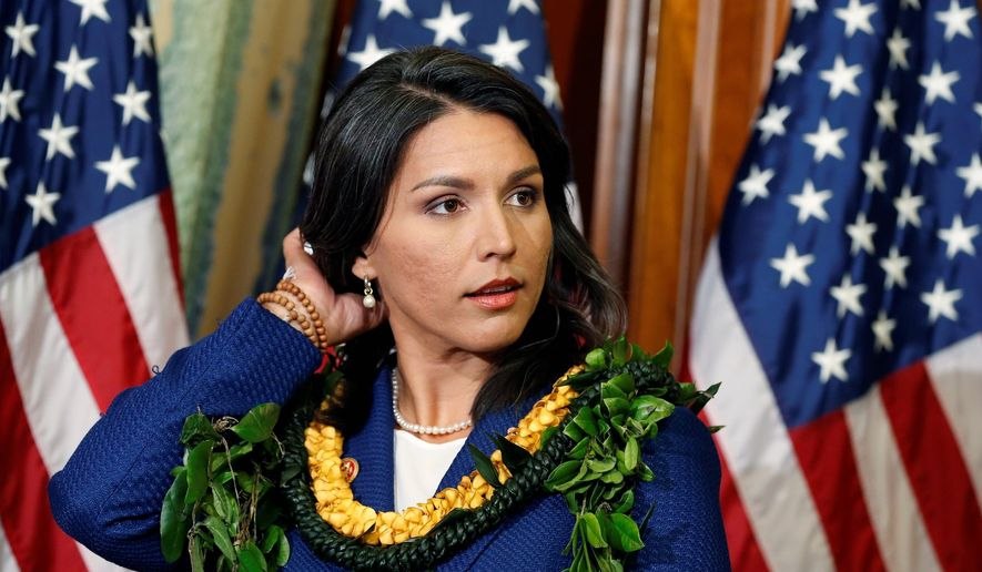 Rep. Tulsi Gabbard, Hawaii Democrat