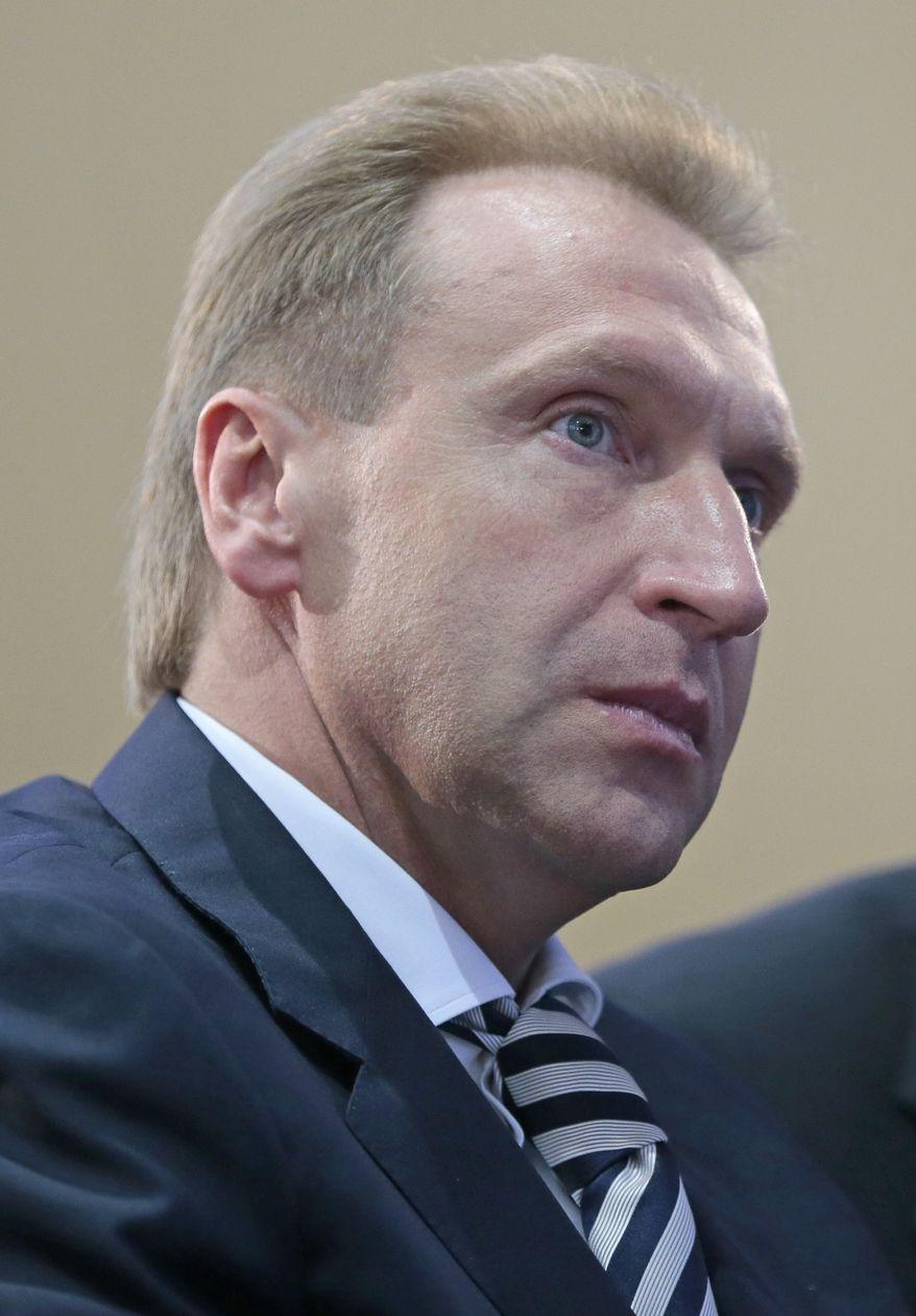 **FILE** Russian First Deputy Prime Minister Igor Shuvalov (Associated Press)