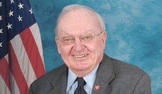 Former Rep. Howard Coble, North Carolina Republican. ** FILE **