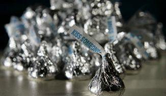 Hershey's Kisses (Associated Press) **FILE**