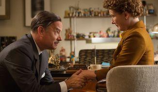 "** FILE ** Tom Hanks portrayed Walt Disney in the movie ""Saving Mr. Banks."" (Disney via Associated Press)"