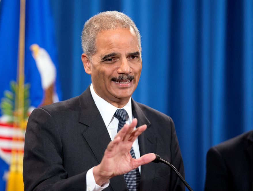 The House of Representatives has already voted to hold Attorney General Eric H. Holder Jr. in contempt for withholding Fast and Furious documents. (ASSOCIATED PRESS)