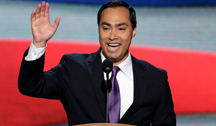 Texas Democratic Rep. Joaquin Castro (Associated Press) **FILE**