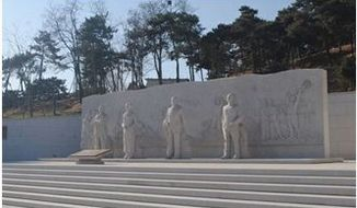 A 30,000 square-foot monument, The Western Hills Unknown Heroes' Commemorative Square, pays tribute to spies sent to Taiwan in 1949.