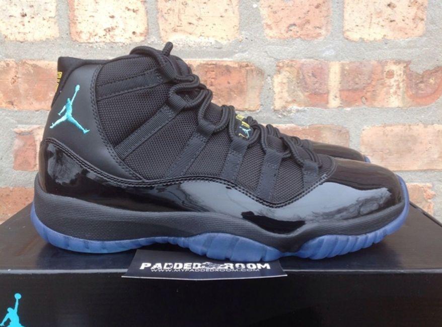 Air Jordan 11 Retro Gamma Blue men's shoe (Screen grab from eBay)