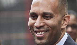 **FILE** Rep. Hakeem Jeffries, New York Democrat (Associated Press)