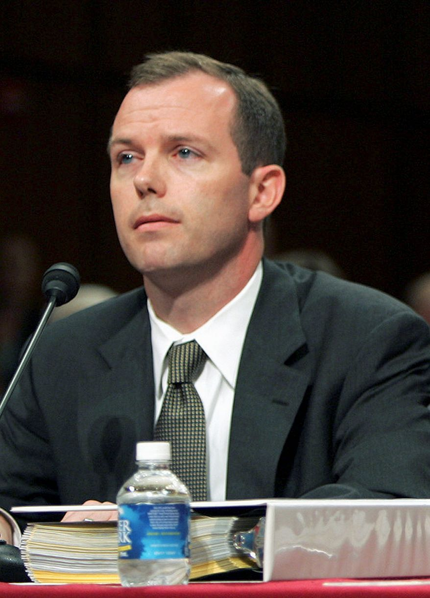 Kevin Ring, an associate of disgraced lobbyist Jack Abramoff, was the only one of among the nearly two dozen defendants in the Abramoff scandal who went to trial. The others cut plea deals. (ASSOCIATED PRESS)