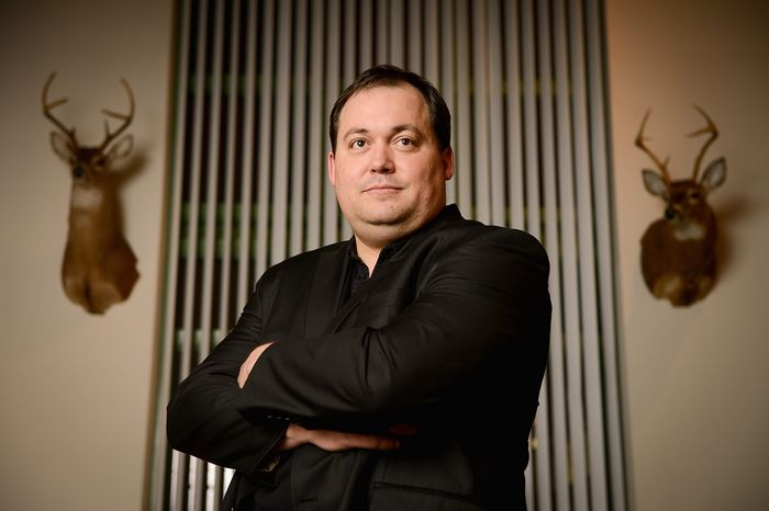 Bryan Crosswhite, founder of 2amendment.org, wants to help pro-Second Amendment consumers connect companies that support the constitutional right to bear arms. (Andrew Harnik/The Washington Times)