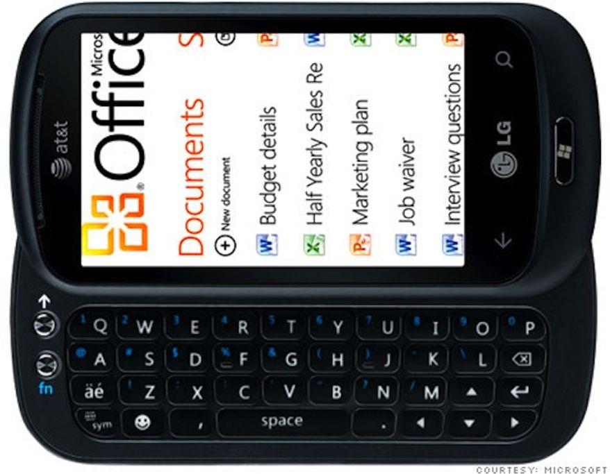 2010 LG Quantum (Image: Microsoft)