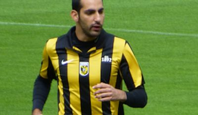 Dan Mori, player of Vitesse, training at National Sports Centre Papendal. (Wikimedia Commons)