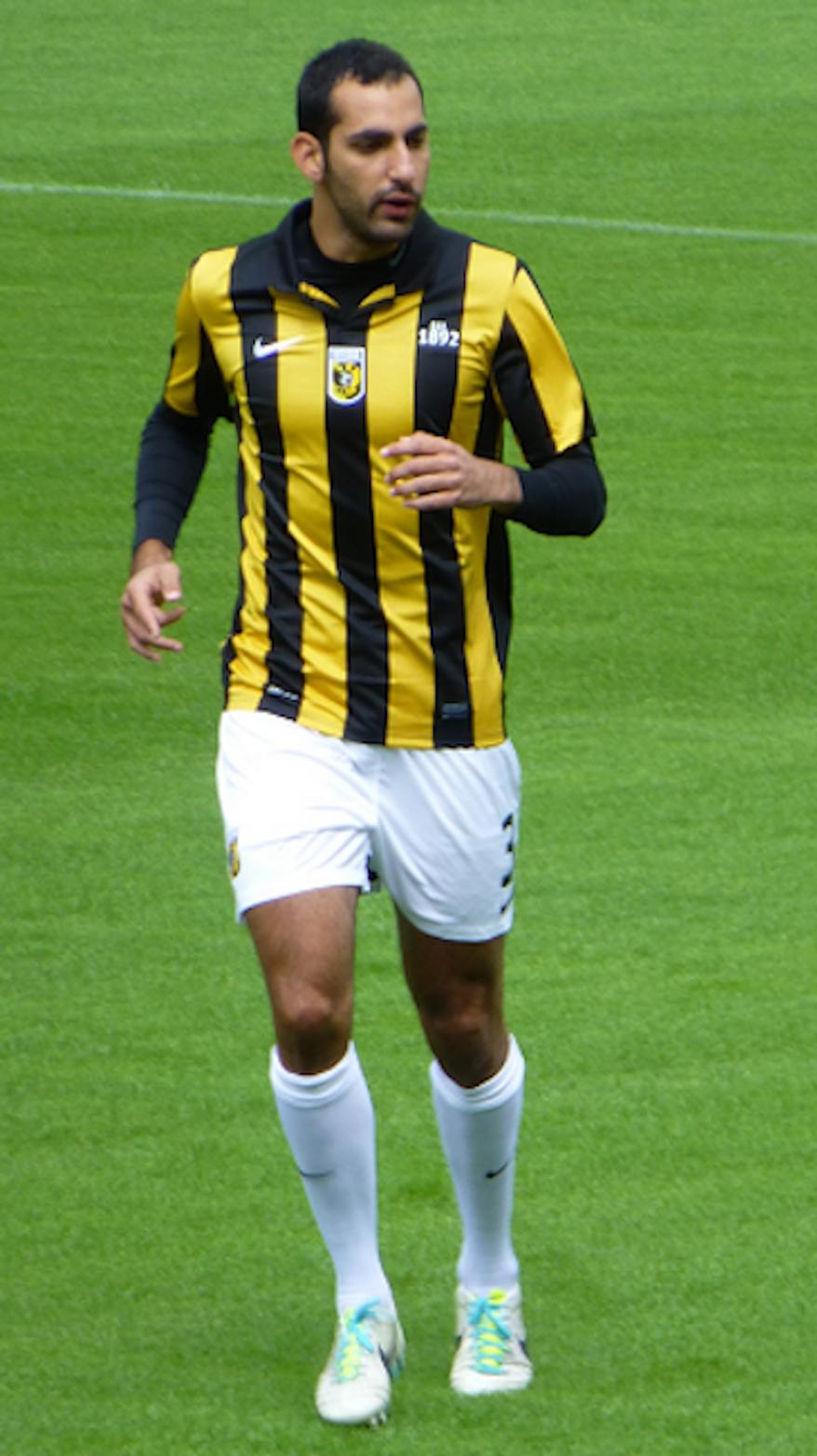 Dan Mori, player of Vitesse, training at National Sports Centre Papendal. (Wikimedia Commons)