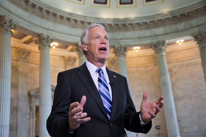 **FILE** Sen. Ron Johnson, Wisconsin Republican (Associated Press)