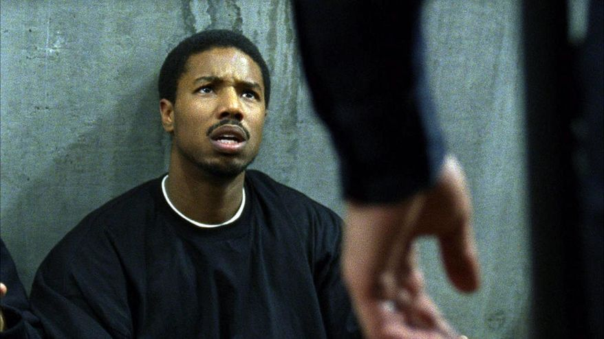 "This film publicity image released by The Weinstein Company shows Michael B. Jordan in a scene from ""Fruitvale Station."" The film was nominated for an Image Award for best motion picture on Thursday, Jan. 9, 2014.  The 45th NAACP Image Awards will be held on Feb. 22. (AP Photo/The Weinstein Company, Ron Koeberer)"
