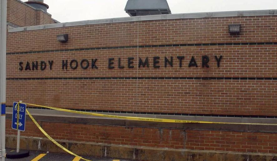 This December 2012 photo released by the Connecticut State Police on Friday, Dec. 27, 2013, shows a scene at Sandy Hook Elementary School in Newtown, Conn. (AP Photo/Connecticut State Police)