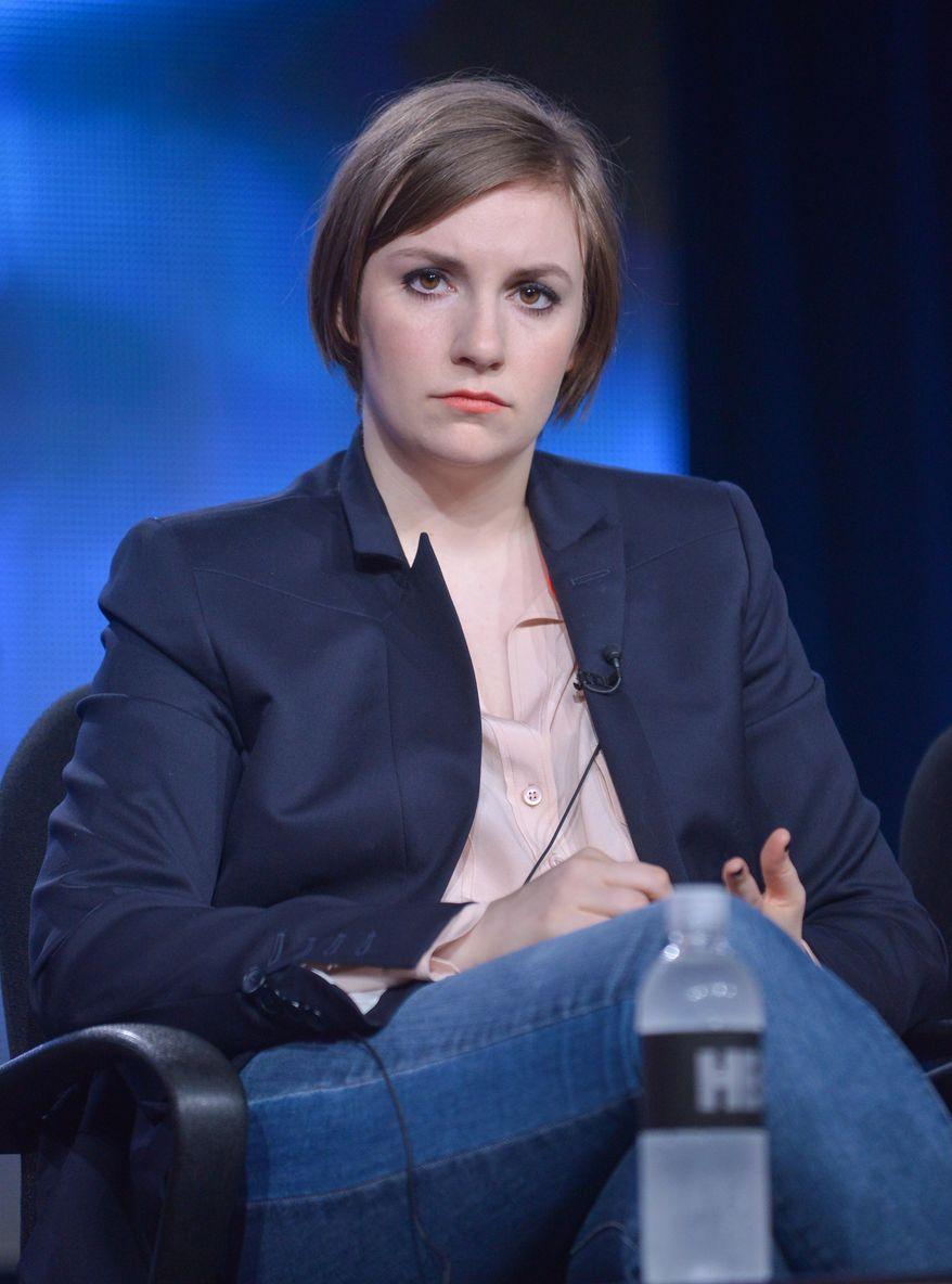 Lena Dunham (Associated Press)