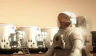Image: Twitter, Mars One