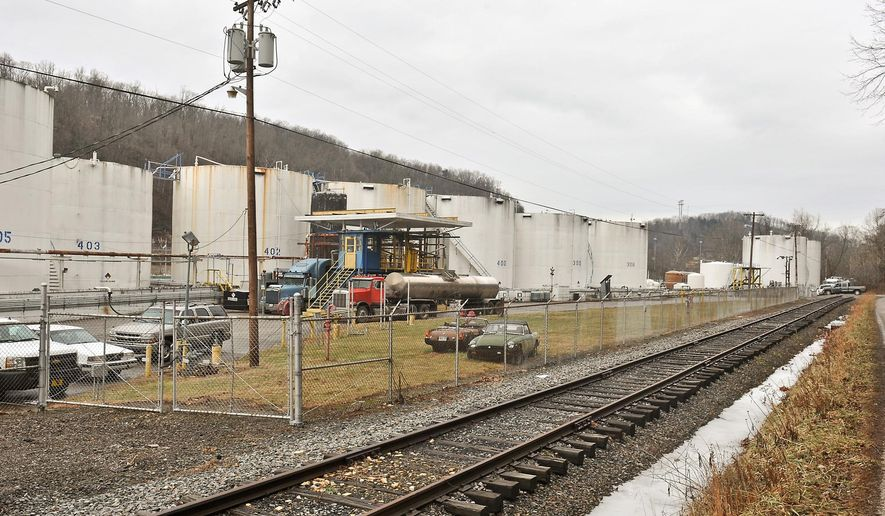 Freedom Industries, a chemical storage facility, in Charleston, W.Va., is shown on Friday, Jan. 10, 2014. A chemical leak at the plant on Thursday has prompted a state of emergency for parts of nine West Virginia counties after contaminating water that was taken in from the nearby Elk River. (AP Photo/Charleston Daily Mail, Bob Wojcieszak)
