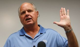 Rush Limbaugh (Associated Press) **FILE**