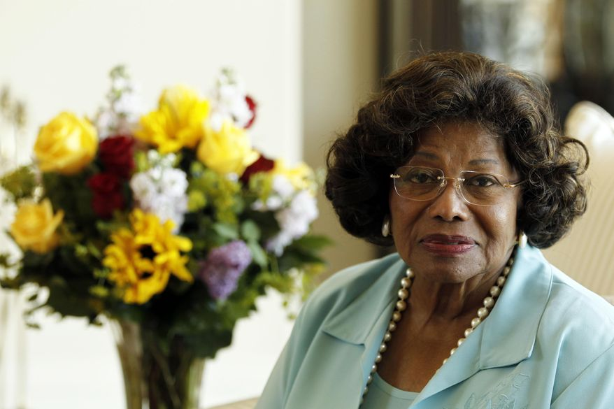FILE - In this April 27, 2011 file photo, Katherine Jackson poses for a portrait in Calabasas, Calif. A Los Angeles judge on Monday, Jan. 13, 2014, denied a motion by lawyers for Michael Jackson's mother to grant her a new trial in her negligent hiring lawsuit against concert promoter AEG Live LLC. (AP Photo/Matt Sayles, file)