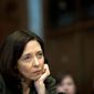 """""""This decision is a blow to the principles of fairness and competition that our innovation economy is built on,"""" said Sen. Maria Cantwell, Washington Democrat. """"[T]his ruling puts the reins of power in the hands of telecom conglomerates, allowing them to create fast and slow lanes on a tiered Internet."""" (Associated Press)"""