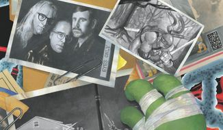 "This comic book cover image released by IDW Publishing shows an issue from the ""X-Files: Conspiracy,"" series featuring the Lone Gunmen. The Lone Gunmen, a trio of fictional characters who appeared in recurring roles on the popular science fiction series, will attempt to blow wide open rumors of Transformers, Ghostbusters and Teenage Mutant Ninja Turtles.  (AP Photo/IDW Publishing)"