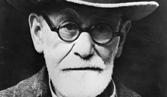 This picture of Sept. 09, 1939, shows Austrian-born Sigmund Freud, psychoanalyst. (Associated Press) ** FILE **