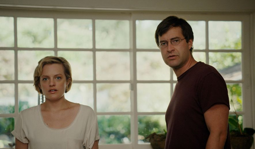 "This photo provided by the Sundance Institute shows Elisabeth Moss, left, and Mark Duplass, from the film, ""The One I Love,"" premiering at the 2014 Sundance Film Festival. The movies that populate independent film festivals continue to elicit lead actors hoping to foster career shifts. Robert Redford's Sundance, kicking off it's 30th year on Thursday, Jan. 16, 2014, in Park City, Utah, continues to attract the crux of the film business. The indie fest is the ideal place to cast a new net. (AP Photo/Sundance Institute, Doug Emmett)"