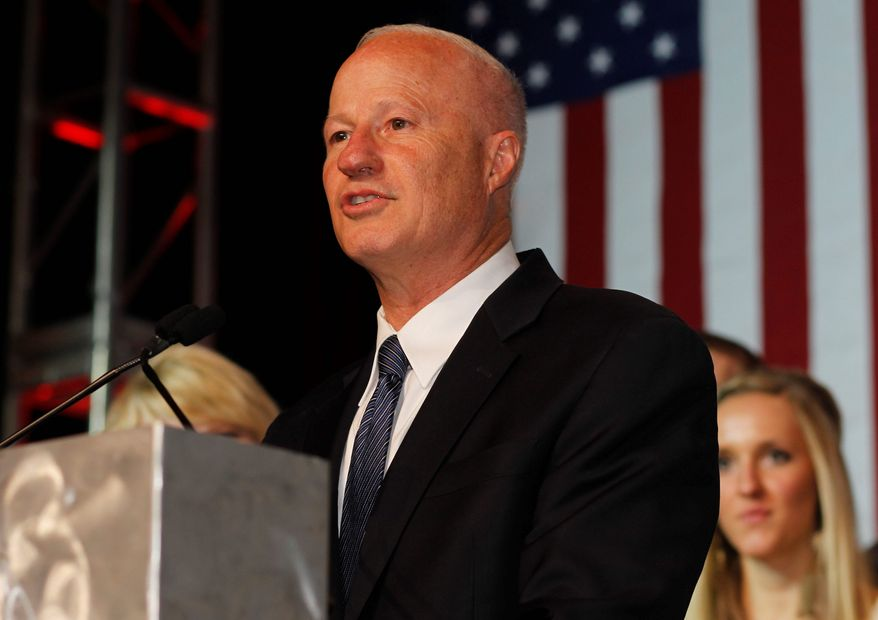 """Proper tracking of surgical implants is a problem that has been unresolved for far too long and it must be remedied posthaste,"" said Rep. Mike Coffman, Colorado Republican and chairman of the House Veterans' Affairs oversight subcommittee. (ASSOCIATED PRESS)"