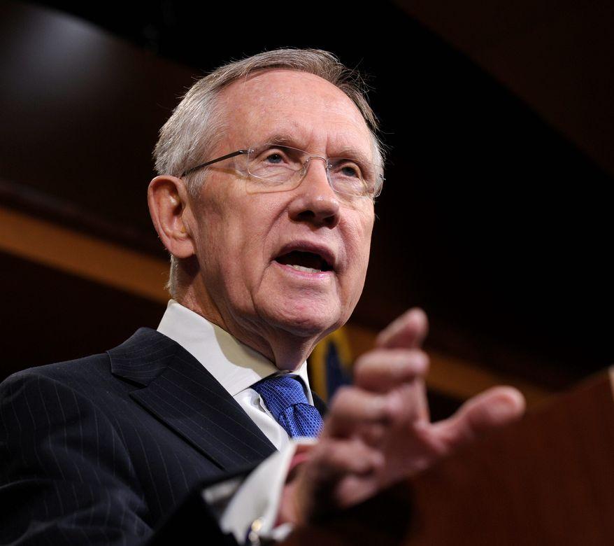 ** FILE ** Sen. Harry Reid. (Associated Press)