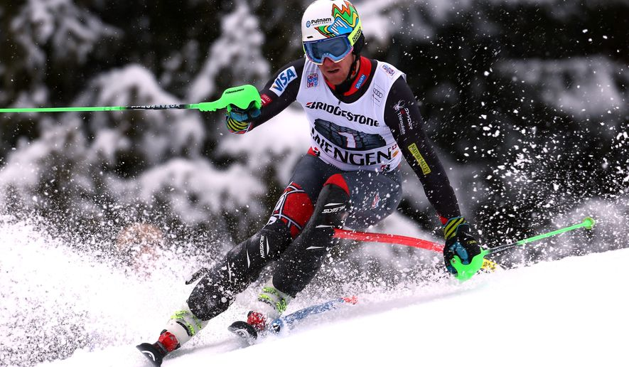 Ted Ligety, considered one of the greatest ski racers in the world, is looking to return to the medal podium next month in Sochi. After winning gold in the combine at the 2006 Turin Games, Ligety faltered in Vancouver and did not medal. (associated press)