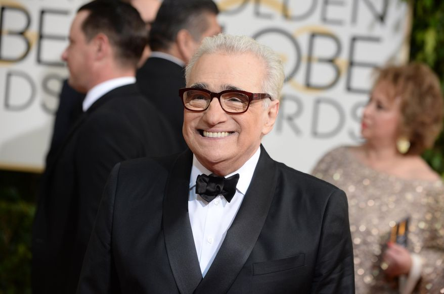 """** FILE ** This Jan. 12, 2014 file photo shows Martin Scorsese at the 71st annual Golden Globe Awards in Beverly Hills, Calif.  Scorsese was nominated for an Academy Award for best director on Thursday, Jan. 16, 2014, for the film """"The Wolf of Wall Street."""" The 86th Academy Awards will be held on March 2. (Photo by Jordan Strauss/Invision/AP, FIle)"""