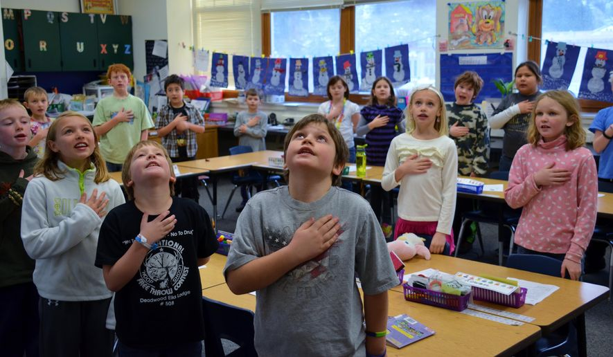 NY school sorry for reciting Pledge of Allegiance in Arabic