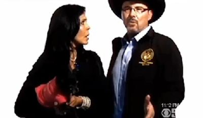 Maria Conchita Alonso starred in a campaign ad for Assemblyman Tim Donnelly, who is seeking the Republican nomination for California governor. (KPIX 5)
