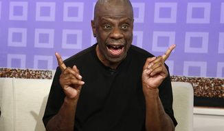 "FILE - This June 26, 2012 file image released by NBC shows Jimmie Walker from the 1970s series ""Good Times,"" on the ""Today"" show in New York. The 66-year-old Walker continues to tour the country with his standup act. He appears in Season 4 of the ""Pioneers of Television"" series that debuts April 15, 2014, on PBS. (AP Photo/NBC, Peter Kramer)"