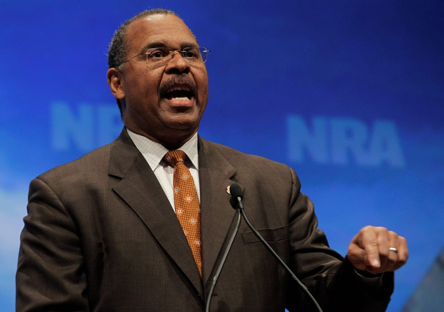 """ASSOCIATED PRESS Ken Blackwell, former Ohio secretary of state, said a new conservative super PAC that seeks to fund state secretary of state candidates is proof that conservatives have learned their lessons. """"I think it's a balancing act now, sort of balancing the scales,"""" he said."""