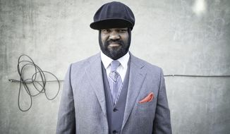 This undated image released by Universal Music shows Gregory Porter. Porter may be a late bloomer as a recording artist, but the soul-jazz singer isn't wasting time picking up Grammy nominations, even though his music doesn't fit neatly into any one category. (AP Photo/Universal Music)