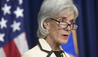 **FILE** Health and Human Services Secretary Kathleen Sebelius. (AP Photo/Pablo Martinez Monsivais)