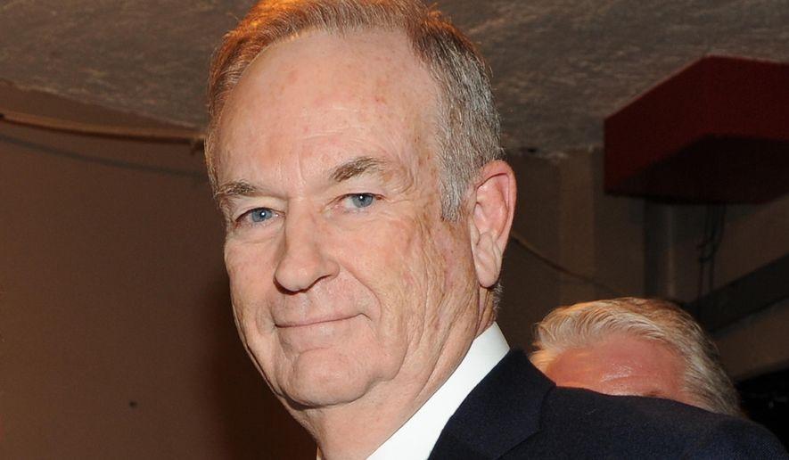 Fox News prime time host Bill O'Reilly  (Photo by Frank Micelotta/Invsion/AP, file)