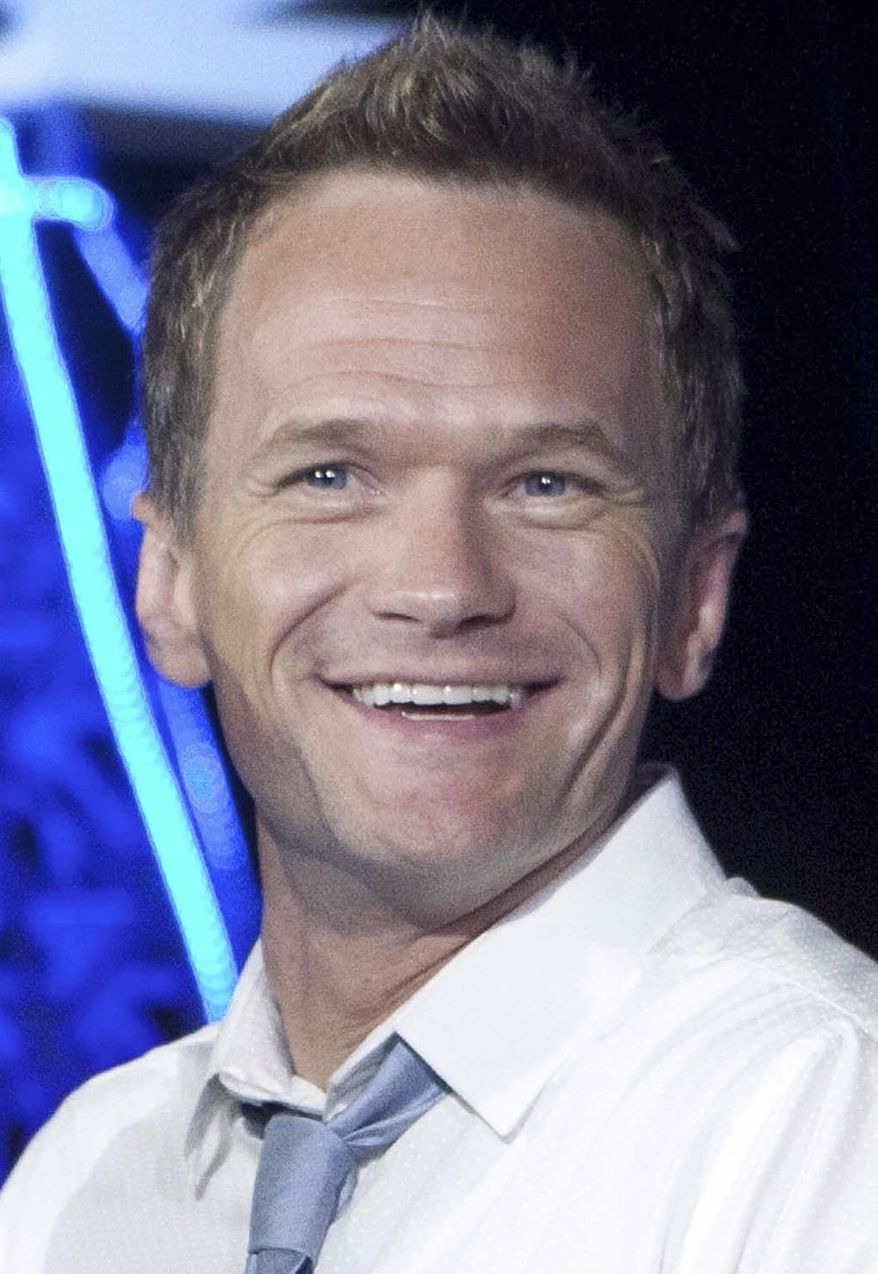 "FILE - In an April 22, 2013, file photo, actor Neil Patrick Harris poses for photos to promote the upcoming film ""Smurfs 2"", at the Summer of Sony 5 Edition photo call in Cancun, Mexico. Harris was named Thursday, Jan. 23, 2014, as Harvard University's Hasty Pudding Theatricals 2014 Man of the Year. (AP Photo/Alexandre Meneghini, File)"