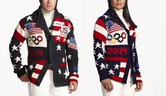 Ralph Lauren's Team USA Olympic Uniforms.