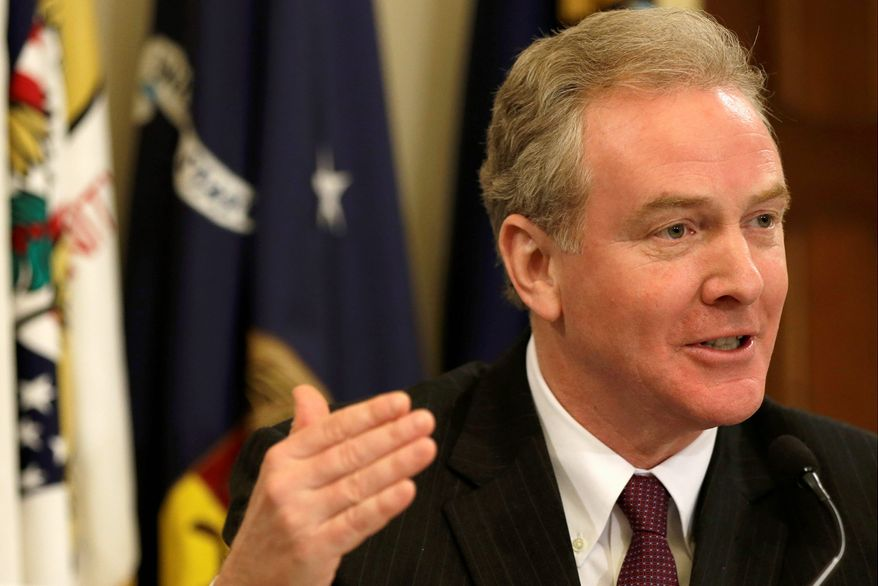 """""""I've been doing lots of events and the overwhelming sentiment is that we need to extend emergency unemployment compensation for million of Americans who are still looking for work but can't find it,"""" said Rep. Chris Van Hollen, Maryland Democrat. (associated press)"""
