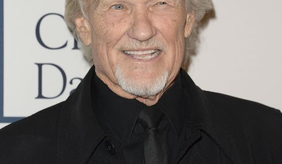 Kris Kristofferson arrives at the 56th annual GRAMMY awards - salute to industry icons with Clive Davis, on Saturday, Jan. 25, 2014, in Beverly Hills, Calif. (Photo by Dan Steinberg/Invision/AP)