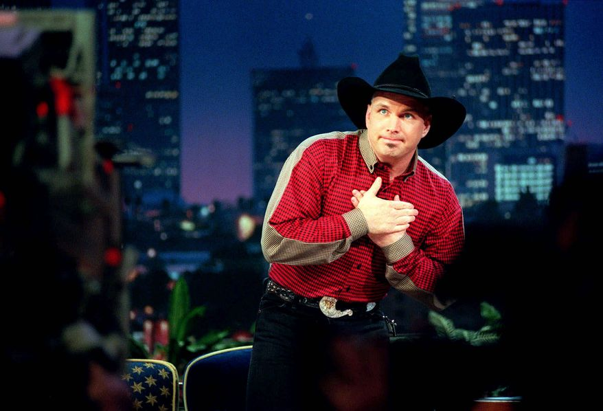 """Country music star Garth Brooks will be a guest on """"The Tonight Show"""" on Feb. 6, Jay Leno's final show as host. Lyle Lovett will become the most frequent musical guest with his scheduled appearance on Feb. 4. (associated press)"""