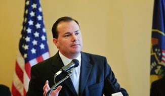 Sen. Mike Lee, Utah Republican, will deliver the tea party's response to President Obama's State of the Union address on Tuesday night. (Mike Lee for Senate)