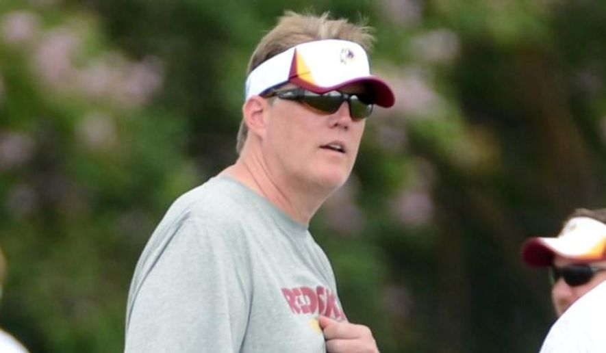 Washington Redskins Director of Player Personnel Scott Campbell during afternoon practice at the Bon Secours Washington Redskins Training Center, Richmond, Va., Tuesday, July 30, 2013. (The Washington Times) **FILE**