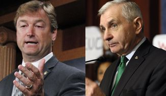 There were some exceptions, particularly in the Senate, where the newly minted legislative team of Sens. Dean Heller (left) and Jack Reed hooked up. The Nevada Republican and Rhode Island Democrat made waves over the last two months by partnering to try to pass an extension of federal unemployment benefits, with Mr. Heller bucking many in his own party to work with Democrats.