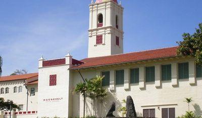 Theodore Roosevelt High School in Honolulu, Hawaii