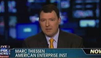 Former George W. Bush speechwriter and Washington Post columnist Marc Thiessen. (Twitter)