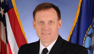 ** FILE ** This Oct. 5, 2011, photo, provided by the U.S. Navy, shows Vice Adm. Michael Rogers. (AP Photo.U.S. Navy)