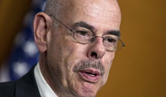 FILE - In this June 18, 2012 file photo, Rep. Henry A. Waxman, D-Calif. speaks on Capitol Hill in Washington. AP Sources say the 20-term California Democratic will retire.  (AP Photo/J. Scott Applewhite, File)